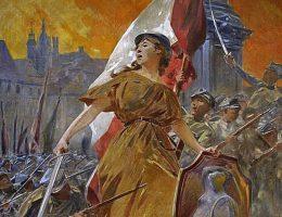Alegoria zwycięstwa 1920 (fot. domena publiczna).