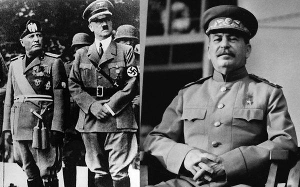 Od lewej: Benito Mussolini, Adolf Hitler, Józef Stalin. Czy powrót w Europie do totalitaryzmów spod znaku faszyzmu i komunizmu jest możliwy? Przed tym właśnie próbuje nas ostrzec Timothy Snyder.