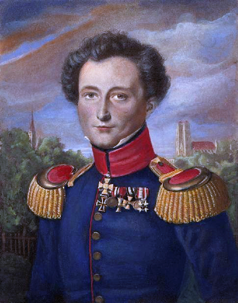 Carl von Clausewitz. O rozbiorze Polski mówił, że jest to sprawa bez której Niemcy nie mogą istnieć
