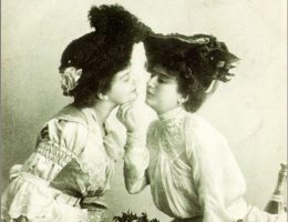 Dziewiętnastowieczna lesbijska para (fot. domena publiczna)