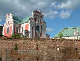 Mury, które broniły Poznania w 1716 roku od strony Fary Poznańskiej. Widok współczesny.