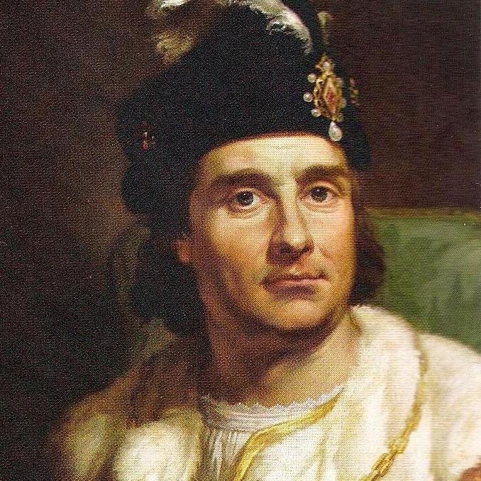 Jan Olbracht na portrecie Marcello Bacciarellego.