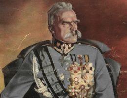 Józef Piłsudski na okładce Światowida, 1935.