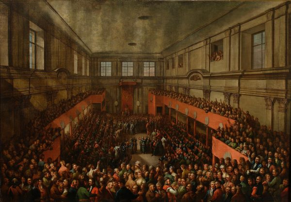 By zabezpieczyć się przed zerwaniem obrad, w trakcie Sejmu Wielkiego zawiązano konfederację, która pozwalała decydować większością głosów.
