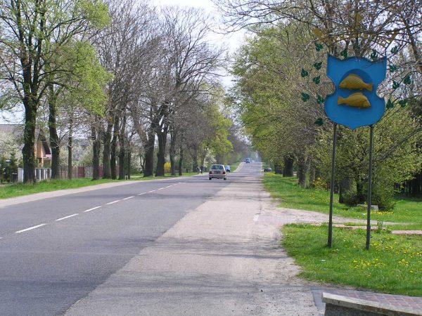 Do jednego z niewielu incydentów podczas wprowadzania religii do szkół na lubelszczyźnie doszło w Krasnymstawie. Na zdjęciu wjazd do miasta.
