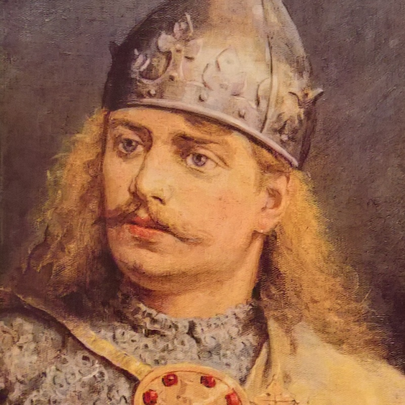 Bolesław Krzywousty według Jana Matejki.