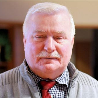 Lech Wałęsa. (fot. Jarle Vines, lic. CCA-SA 3.0)