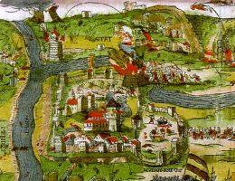 Oblężenie Połocka w 1579 roku.