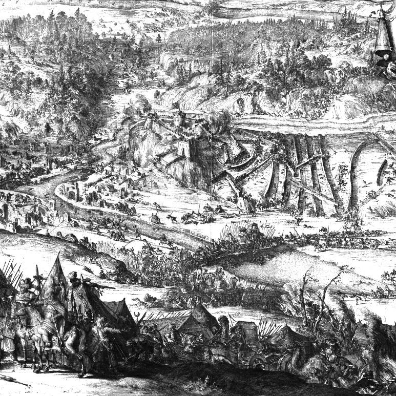 Oblężenie Trembowli w 1675 roku.