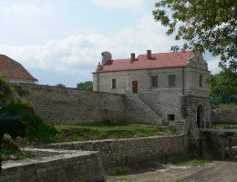 Zamek w Zbarażu na współczesnej fotografii.