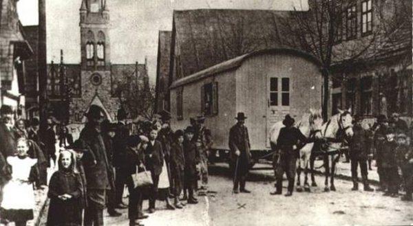 Wóz Michała Drzymały, który stał się symbolem polskiej walki z germanizacją