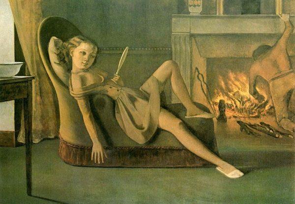 Inny, znacznie bardziej sugestywny obraz Balthusa.