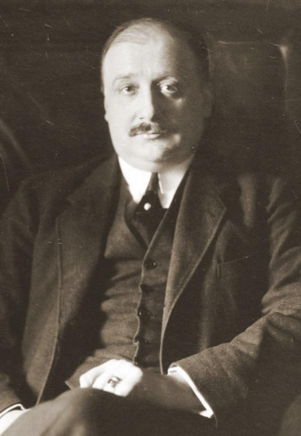 Kontrkandydat Piłsudskiego Adolf Bniński (fot. domena publiczna).