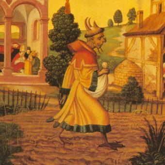 Nowożytne wyobrażenie diabła (fot. domena publiczna)