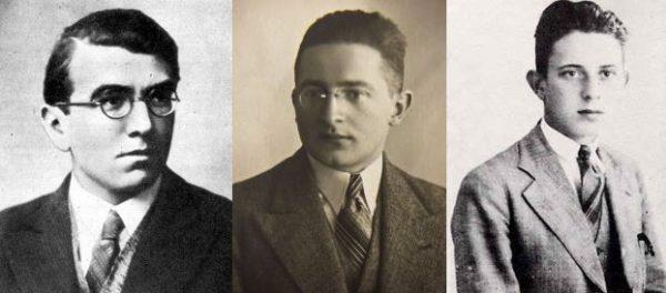 Rozszyfrowanie Enigmy było dziełem trzech matematyków: Henryka Zygalskiego, Mariana Rejewskiego i Jerzego Różyckiego.