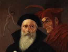 Faust i Mefisto. (fot. domena publiczna)