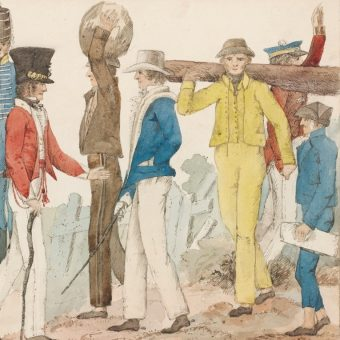Pierwsi biali osadnicy w Australii pochodzili z bardzo różnych warstw społecznych.