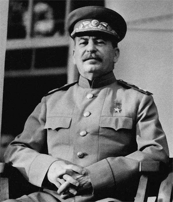 """""""Króki kurs"""" był wykwitem najbardziej betonowego stalinizmu. Ciekawe, co muślał o nim sam Iosif Wissarionowicz? (fot. domena publiczna)"""