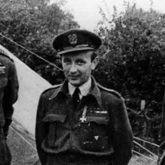 Jeden z najsłynniejszych polskich pilotów wszech czasów - Stanisław Skalski (fot. domena publiczna).