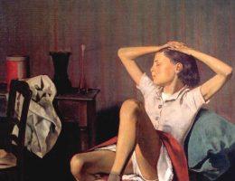 Sporny obraz Balthusa (fot. domena publiczna)