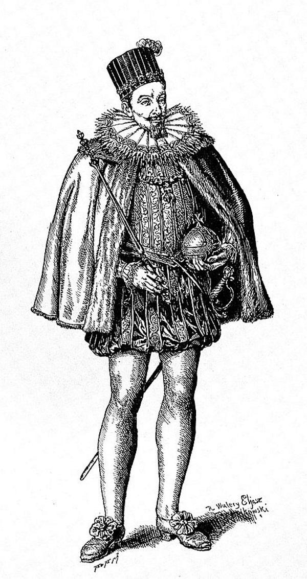 Zygmunt III Waza nie każdemu magnatowi przypadł do gustu... (fot. domena publiczna).