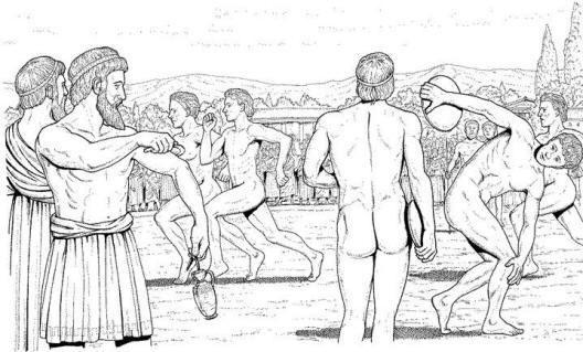 Ćwiczenia fizyczne w starożytnej Grecji