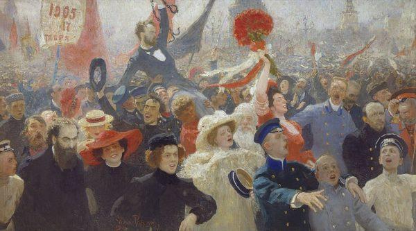 W październiku 1905 roku w Odessie spór o manifest październikowy cara Mikołaja II przerodził się w zamieszki uliczne i doprowadził do pogromu Żydów.