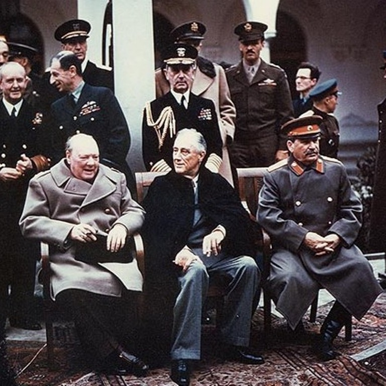 W Jałcie przywódcy światowych mocarstw decydowali o kształcie powojennego ładu.