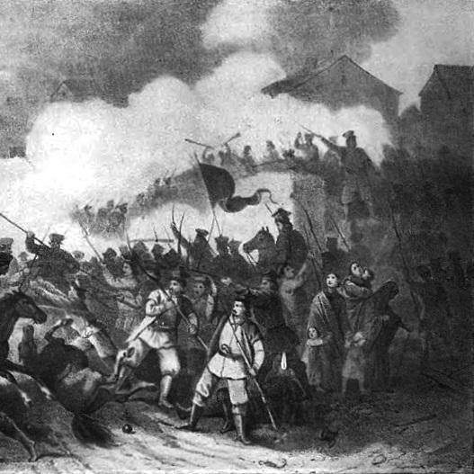 Bitwa pod Siemiatyczami była największą potyczką powstania styczniowego.
