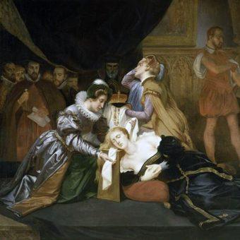 Maria Stuart prawie dwadzieścia lat przebywała w niewoli, więziona przez Elżbietę I, zanim skazano ją na śmierć.