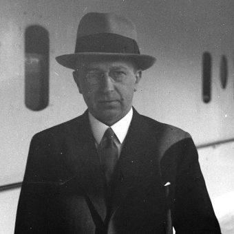 Adam Koc. Jeden z organizatorów niedoszłej akcji odwetowej, na fotografii z lat 30.
