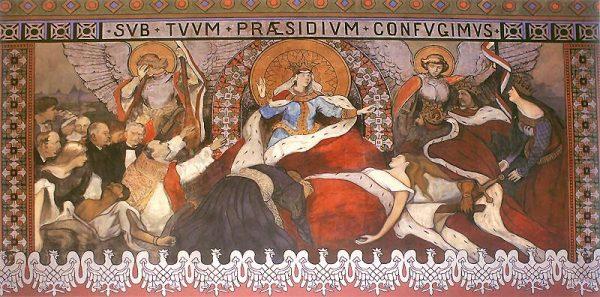 Inteligencja przyczyniła się do wykształcenia polskiej tożsamości narodowej i zachowania tradycji narodowych w okresie zaborów. Przypominały o niej także dzieła takie, jak alegoria umarłej Polski Włodzimierza Tetmajera.