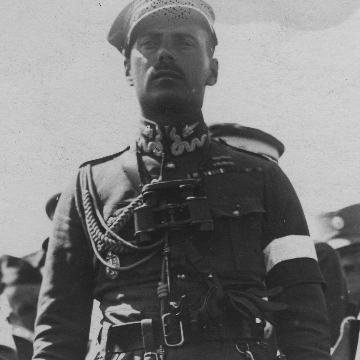 Władysław Anders w czasie manewrów. Okres międzywojenny.