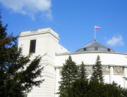 Budynek Sejmu RP (fot. Kpalion, lic. CC ASA 3,0U)