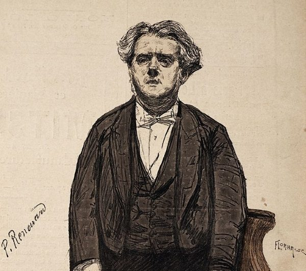 Charles Thomas Floquet na portrecie z 1888 r. (fot. domena publiczna)