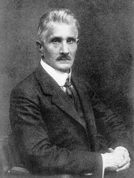 Ignacy Daszyński na fotografii portretowej
