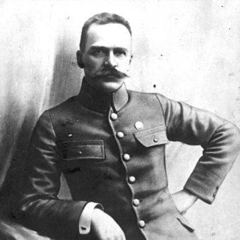 Józef Piłsudski w Genewie nie patyczkował się z premierem Litwy (fot. domena publiczna)