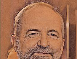 Juliusz Braun. Grafika oparta na fotografii z 2012 roku (zdjęcie oryginalne - Ja Fryta; CC BY-SA 2.0)