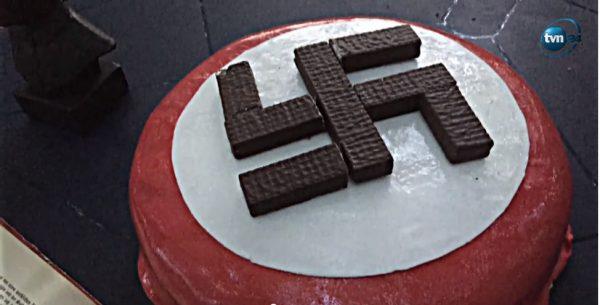 Kadr z odcinka programu Superwizjer poświęconego środowiskom neonazistowskim.