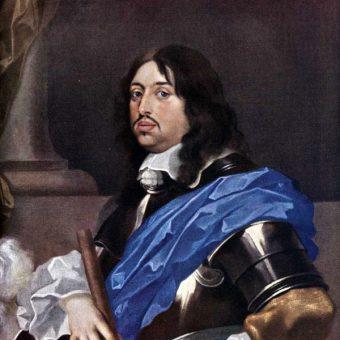 Karol Gustaw z pewnością nie był zadowolony, gdy usłyszał, co ma mu do powiedzenia kanonik krakowski Szymon Starowolski. (fot. domena publiczna)