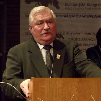 Lech Wałęsa (fot. Piotr Drabik, lic. CCA 2.0)