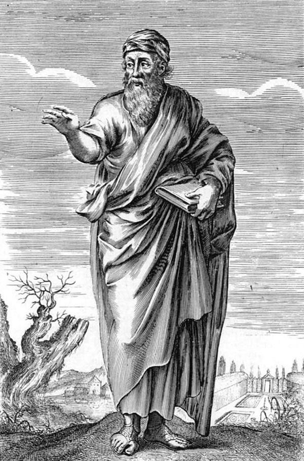 Pitagoras (fot. domena publiczna).