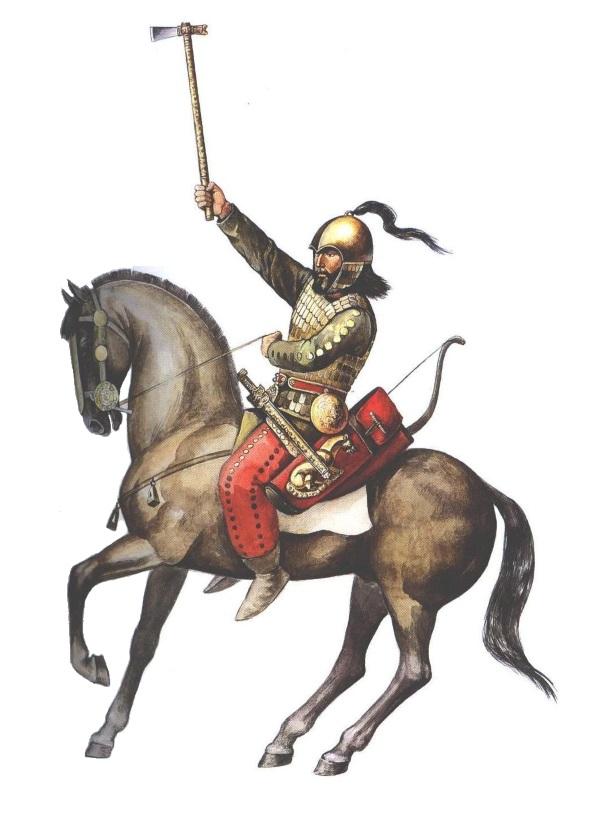 Scytyjski wojownik (fot. Janmad, lic. CC BY 3.0).