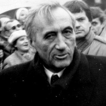 Tadeusz Mazowiecki (fot. Artur Klose, lic. CCA-SA 2.0 Generic)