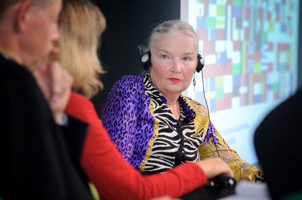 Także prof. Jadwiga Sztaniskis wspierała komandosów (fot. Heinrich-Böll-Stiftung, lic. CC BY-SA 2.0)