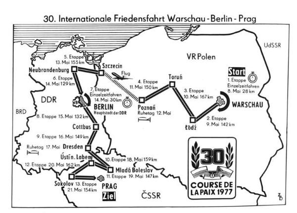 Trasa wyścigu 1977 roku (fot. Bundesarchiv, Bild 183-00209-0033, lic. CC-BY-SA 3.0)