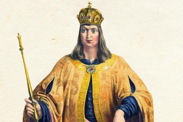 Najmniej popularny polski władca na XIX-wiecznej litografii.