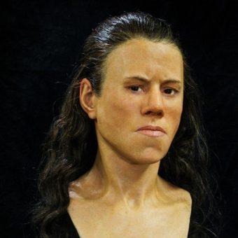 Zrekonstruowany wygląd Avgi (fot. Oskar Nilsson)