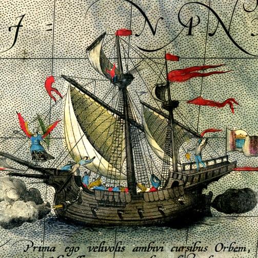 """Podróż """"Victorii"""", jedynego statku z floty Magellana, który ukończył okrążanie globu, jest znana. Ale kto jeszcze wyruszył dookoła świata?"""
