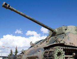Zdobycie Shermana to jeden z najciekawszych epizodów organizowania wystawy w Muzeum II Wojny Światowej.